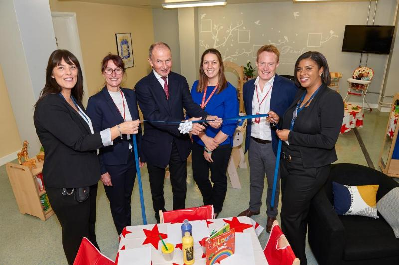 Lord Farmer Opens New Bright Space at HMP Bronzefield